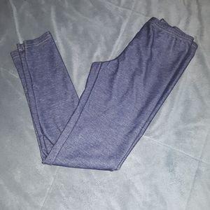 5/$25 sale.  Old Navy girls 10/12 blue leggings